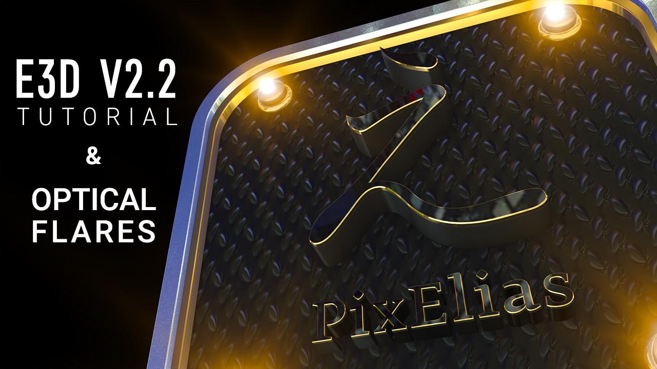 Element 3D Logo Animation